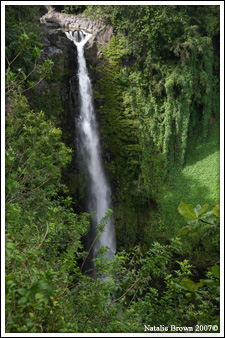 hana waterfall